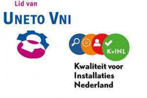 Wij zijn lid van Uneto VNI en van het KvINL